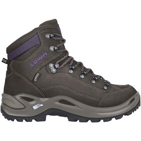 Lowa Renegade GTX Mid Shoes Women, slate/blackberry